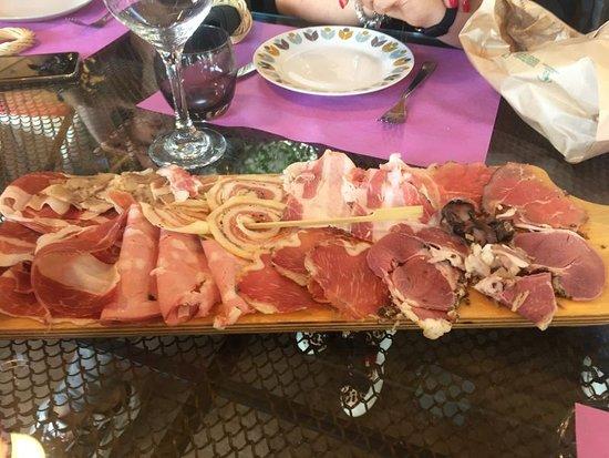Gallinaro, Italia: Antipasto misto