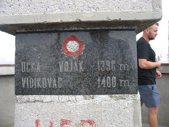Ucka Nature Park, Croatie : 1400 m