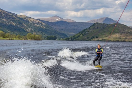 Ardlui, UK: Wakeboarding with Loch Lomond Wakeboard