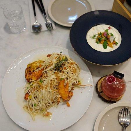 Hokkaido Uni, Korean Chili,Spaghetti$338,香滑忌廉、韓辣醬加上日本北海道海膽,混出令人驚喜的味道!