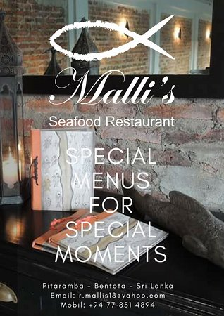 Special Menus fpr Special Moments - Person; 8 - 25 person