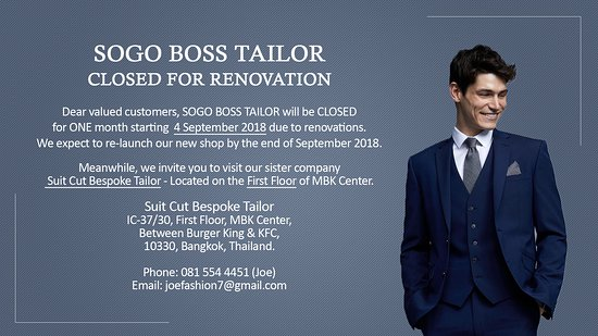 ‪Sogo Boss Tailor‬