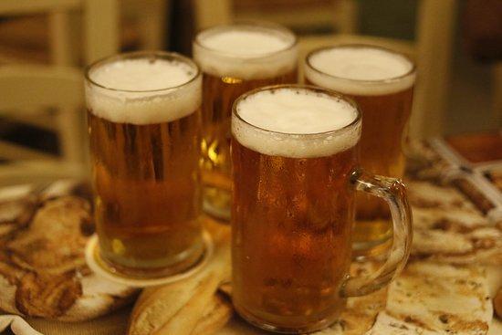 Gra Lygia, Yunani: Draught beer in Mesostrati
