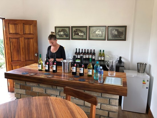 Calitzdorp, Jihoafrická republika: Du'SwaRoo Tasting room. Very stylish and friendly service.