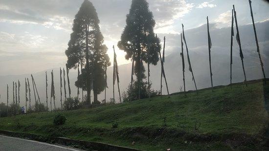 Simana View Point: border