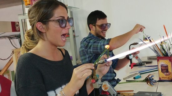 Glass Blowing Studio- Yael Vloch