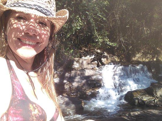 Arapei, SP: Cachoeira do criminoso em Arapeí