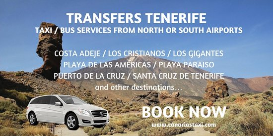 Playa Honda, Spain: Book your transfer service in Tenerife with CanariasTaxi.com and travel quiet and comfortable.