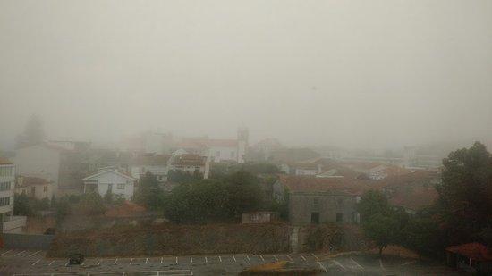 Oliveira de Azemeis, Portugal: Vista de Oliveia de Azeméis do hotel Dighton