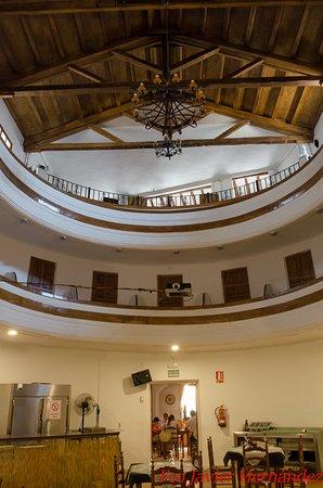 Letur, Spain: Los palcos dentro del restaurante.