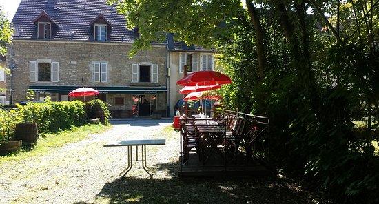 Voiteur, Francia: Auberge de la Seille