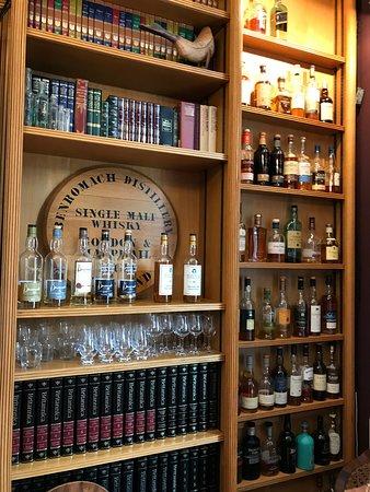 Boath House: la fornitura di Whiskey