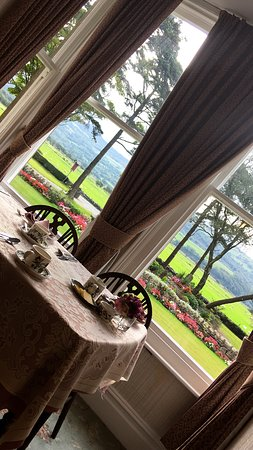 Talsarnau, UK: Breakfast Room View
