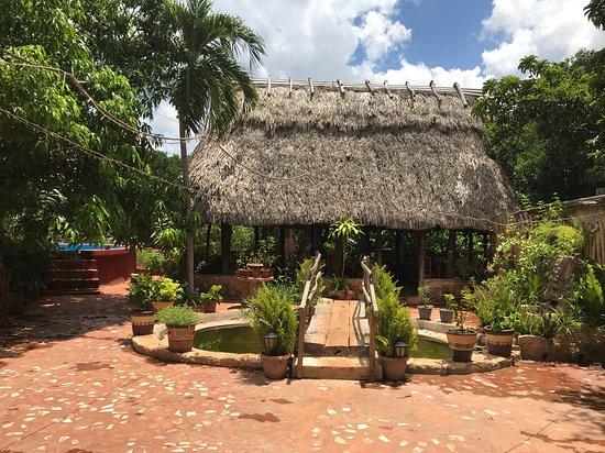 Santa Elena, Mexico: vista sul retro