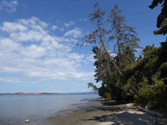 Crofton, Canada: beach spot at the end.