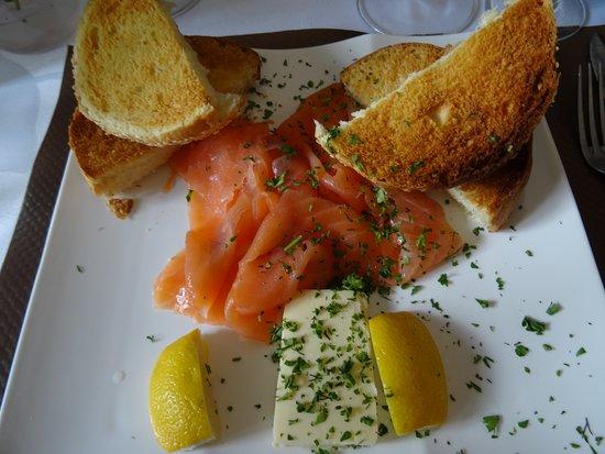 Montry, Frankrig: Assiette de saumon
