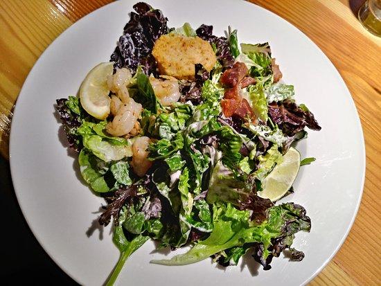 Modern Cafe: Fish 3 ways salad. So good!!