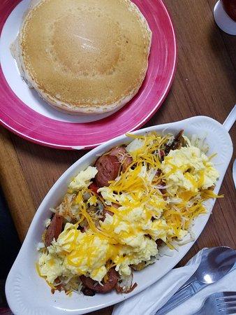 Smoky's Pancake Cabin: Breakfast