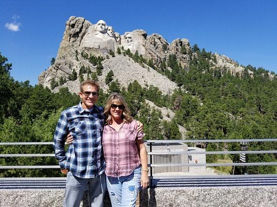 Hermosa, เซาท์ดาโคตา: Enjoying Mt. Rushmore