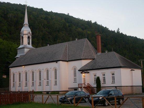 Petite-Riviere-Saint-Francois, Kanada: Eglise typique du Charlevoix