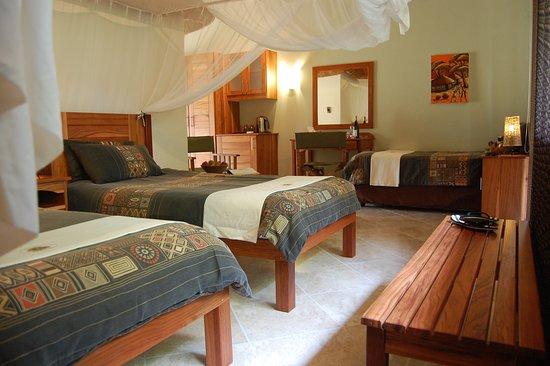 Kubu Safari Lodge: Tripple Room