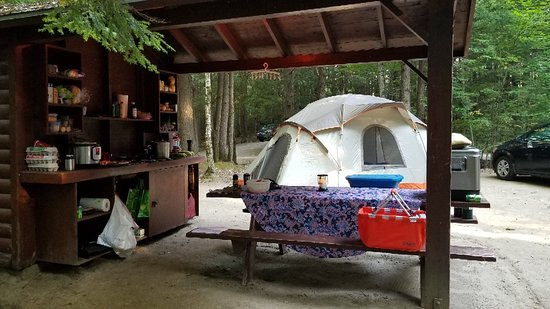 Papoose Pond Family Campground & Cabins: 20180831_173524_large.jpg
