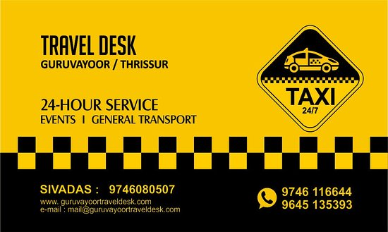 Travel Desk Taxi Guruvayur