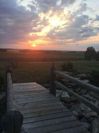 Carstairs, Canada : Pretty Sunset View