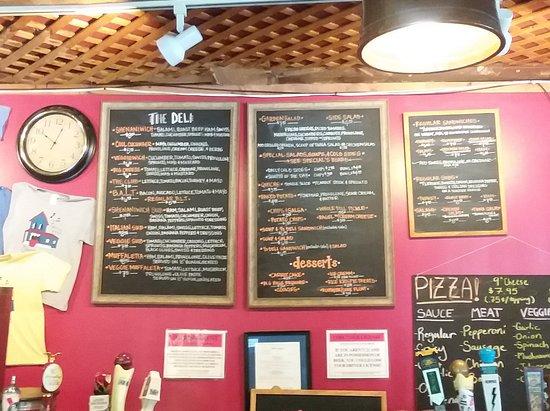 Sewanee, TN: Deli menu