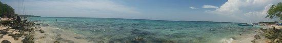 Isla Baru, Kolumbien: playa blanca - panorâmica