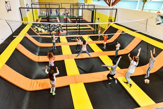 Montijo, Portugal: A nosso espaço de trampolins > JUMP < 😆👍