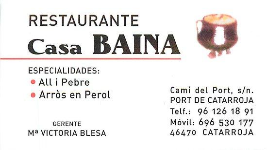 Catarroja, Испания: Cocina tradicional valenciana en estado puro.