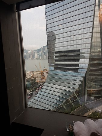Kowloon view from bathroom
