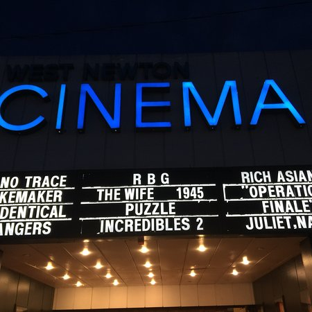 West Newton Cinema: Example of diverse selection of films.