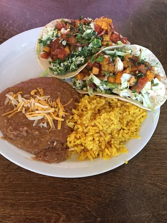 Rathdrum, ID: Fish Tacos, Beans and Rice