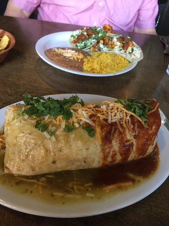 Rathdrum, ID: Pork Pastor and Grilled Pineapple Burrito Smothered