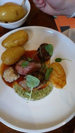 Borris, أيرلندا: Delicious as always! The photos day it all.....
