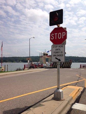 Merrimac Ferry over the Wisconsin River, Merrimac Wisconsin