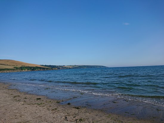 The view from Par Sands Beach