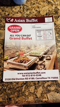 Awesome Wei Asian Buffet Carrollton Restaurant Reviews Photos Interior Design Ideas Gentotryabchikinfo