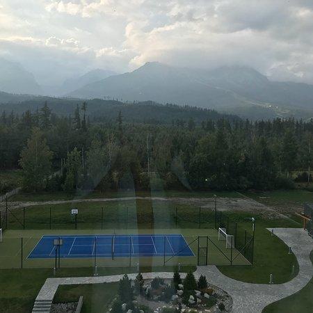 Stara Lesna, Slovakien: Krásne výhľady z HORIZONT RESORT !