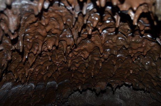 Sicily Sensations: Particolare del soffitto della grotta