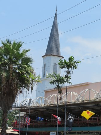View Of Nearby Church Spire