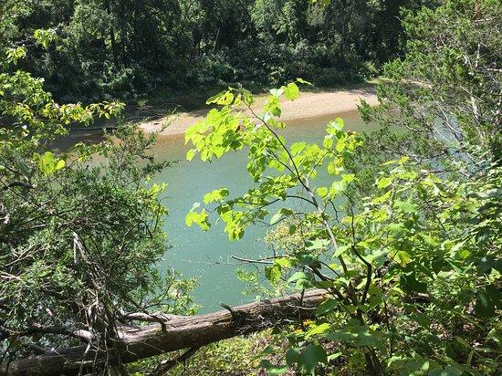 Sullivan, Μιζούρι: the river below...