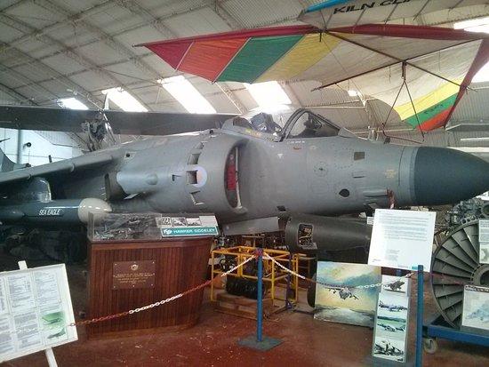 Flixton, UK: Sea Harrier