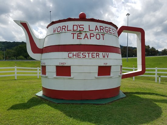 ‪‪Chester‬, فرجينيا الغربية: Worlds Largest Teapot‬