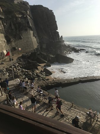 Azenhas do Mar, Portugal: Another view from restaurant
