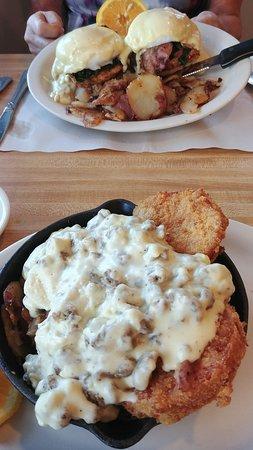 Pomona, NJ: breakfast items