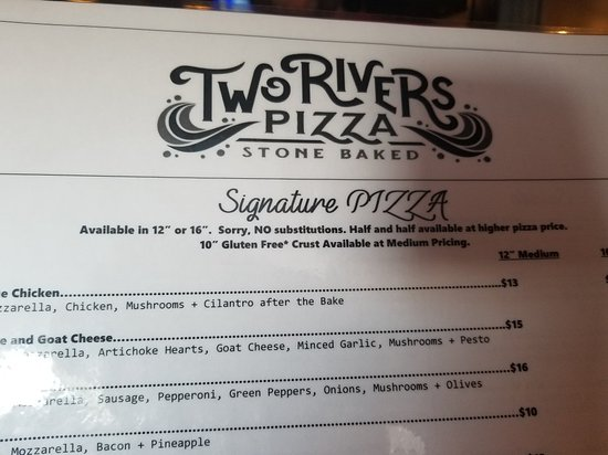 Falmouth, Κεντάκι: Two Rivers Pizza
