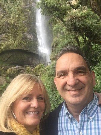Azuay Province, Ecuador: Giron Waterfall